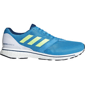 adidas Adizero Adios 4 Shoes Men shock cyan/hi-res yellow/legend marine